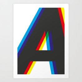 ACMYK Art Print