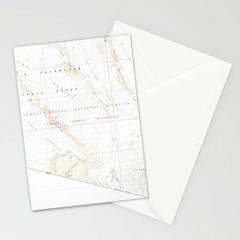 AZ Cabeza Prieta Mts 315233 1980 100000 geo Stationery Cards