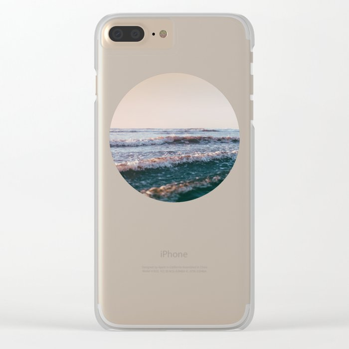 Pacific Lullaby Clear iPhone Case