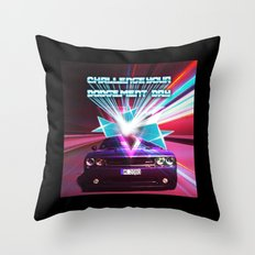 Challenge your Dodgement Day Throw Pillow