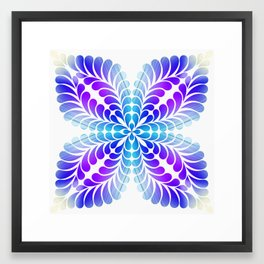 Flourish 43 Framed Art Print