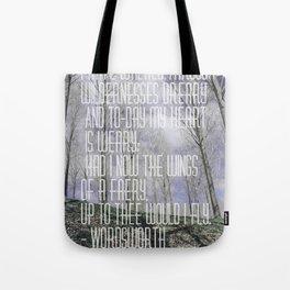 Wordsworth Tote Bag