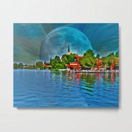 Lake Schliersee bavaria Germany Metal Print