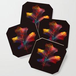 Rainbow Leaf Coaster