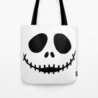 jack Tote Bags featuring Jack by Jason Michael