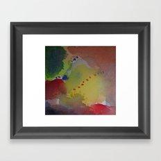 Watercolor Abstract Mini Series #4 Framed Art Print
