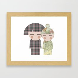 japan animation (for2) Framed Art Print