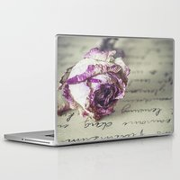 letter Laptop & iPad Skins featuring Love letter by Maria Heyens