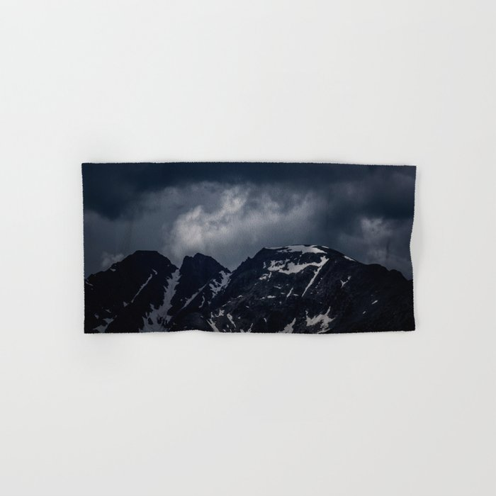 Dark Mountain mood Hand & Bath Towel