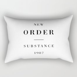 New Order Substance 1987 Rectangular Pillow