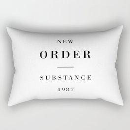 New Order Substance 1987 Rectangular Pillow