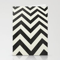 minimalist Stationery Cards featuring Twin Peaks Minimalist Poster by Kristjan Lyngmo