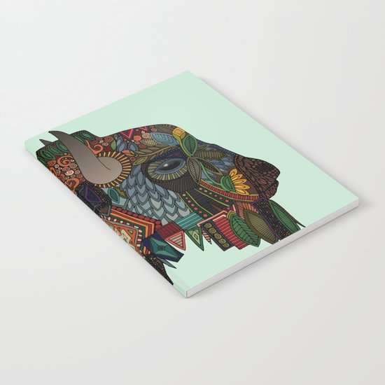 bison mint Notebook