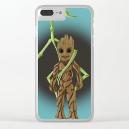 Fantastic Plants Clear iPhone Case