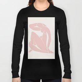 Matisse Print, Henri Matisse, Matisse Poster, Matisse Art,Matisse Cut Out, Fine Art Print, Female Nu Long Sleeve T-shirt