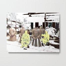 Artists At Work Metal Print
