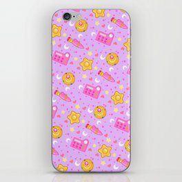 Usagi's Items Pattern / Sailor Moon  iPhone Skin