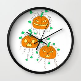 Three Jacks Wall Clock