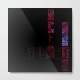Acid4Me Metal Print