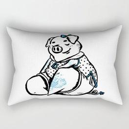Peace & Pig Rectangular Pillow