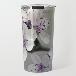 Misty Flowers Travel Mug