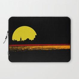 minimal sunset Laptop Sleeve