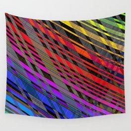 broken stripes Wall Tapestry