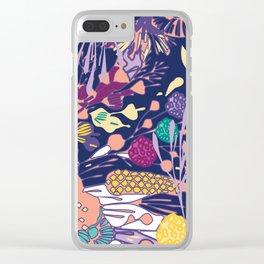 BEACH, PLEASE. Clear iPhone Case