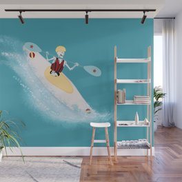 Whitewater Willy Wall Mural