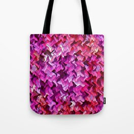 Pretty in wavy Pink..... Tote Bag