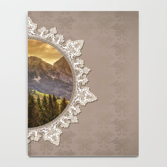 Paradise in a Mirror Notebook