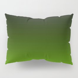 Ombre Lemon Green Pillow Sham