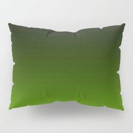 Ombre Lemon Green Pillow Sham