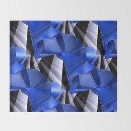 3D abstraction -03a- Throw Blanket