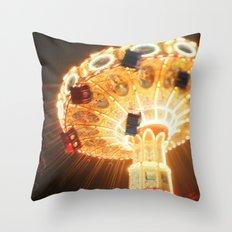 simpler times Throw Pillow