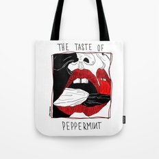 The taste of peppermint Tote Bag