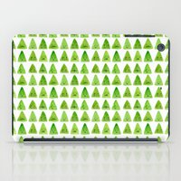 mountain iPad Cases featuring Mountain by Young Ju