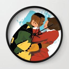 Damn Gina & Martin - This Kind of Love Wall Clock