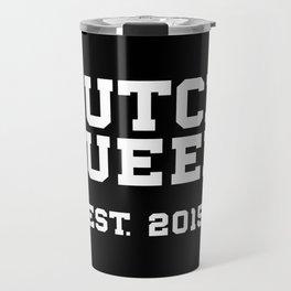 New Butch Queen - white Travel Mug