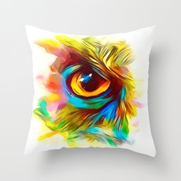 The Eye Is Upon You Throw Pillow