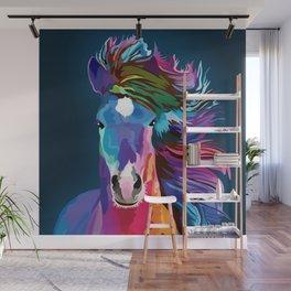 pop art horse Wall Mural