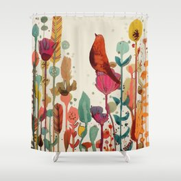 encore un peu de temps Shower Curtain