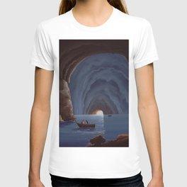 Grotta Azzurra - The Blue Grotto Capri Italia T-shirt