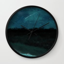 First Frost - Before Dawn Wall Clock