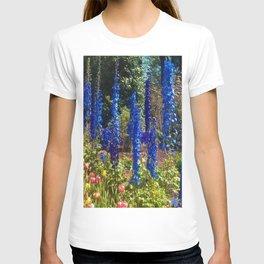 Delphinium Garden T-shirt