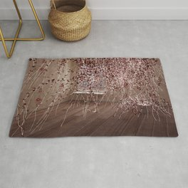 Electric Flowers Rug