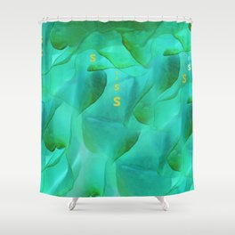 Under water gg Shower Curtain