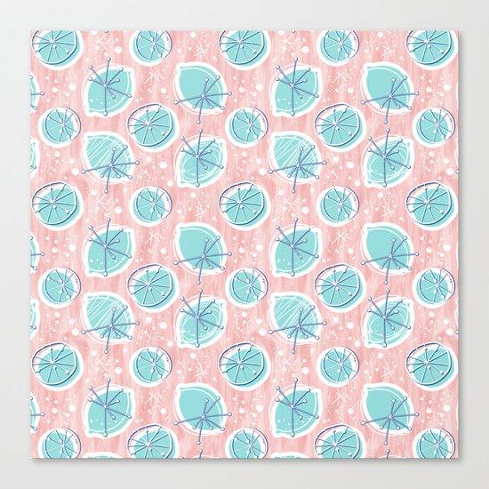 Atomic Lemonade_Rose Quartz Canvas Print