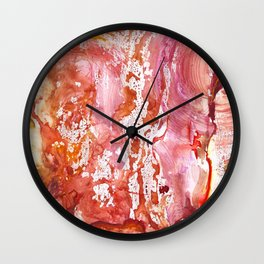 Whispers by Nadia J Art Wall Clock