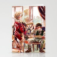 les mis Stationery Cards featuring les miserábles: atelier visit by Daniela Viçoso